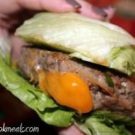 Cheddar Stuffed Jalapeno Burgers