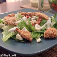 Crunchy Buffalo Chicken Salad