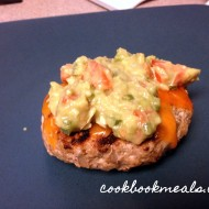 Mexican Turkey Burgers with Guacamole