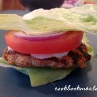 "Buffalo Turkey Burgers (on Lettuce ""Buns"")"