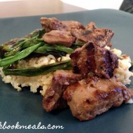 Grilled Korean Beef and Scallions