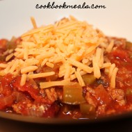 Copycat Wendy's Chili