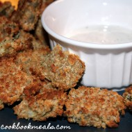 """Oven """"Fried"""" Pickles"""