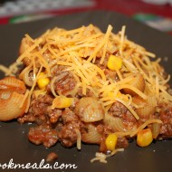 15 Minute Beef and Macaroni with Corn
