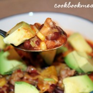 Slow Cooker Loaded Turkey Chili