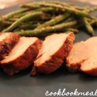 Garlic-Balsamic Pork Tenderloin