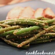 Balsamic-Parmesan Haricots Verts
