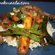 Beef Stir Fry with Zucchini and Green Beans