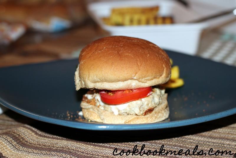 Caesar Chicken Burgers (25)