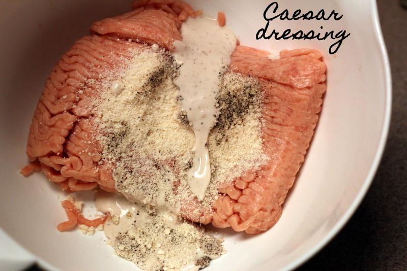 Caesar Chicken Burgers (8)