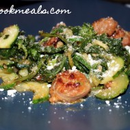 Zucchini, Sausage, and Broccoli Rabe