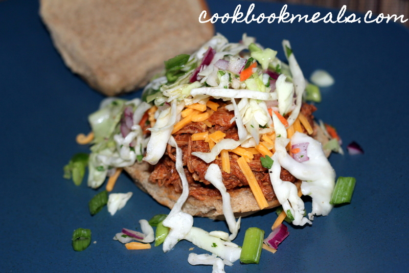 Slow Cooker Mexican Pulled Pork Sandwiches