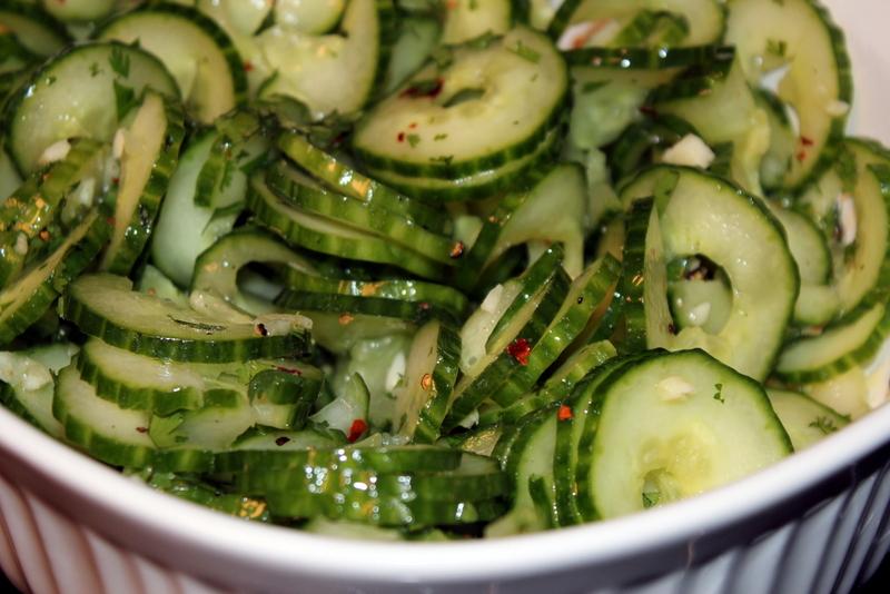 Spicy Cilantro Lime Cucumber Salad (18)