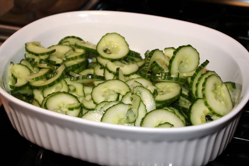 Spicy Cilantro Lime Cucumber Salad (6)