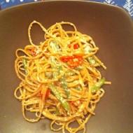 Whole-Wheat Linguine with Green Beans, Ricotta, & Lemon