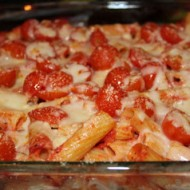 Baked Ziti with Cherry Tomatoes
