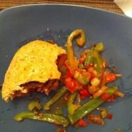 Beef Fajita Burgers with Peppers & Onions