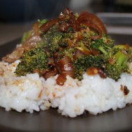 Beef with Broccoli in Orange Sauce