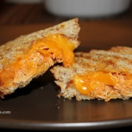 Buffalo Chicken Grilled Cheese Paninis