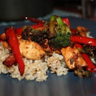 Chicken Stir-Fry with Broccoli and Peppers