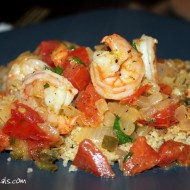 Cilantro Lime Shrimp with Tomatoes