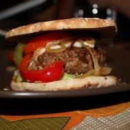 Fajita-Style Burgers