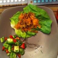 Moo Shu Pork Lettuce Wraps