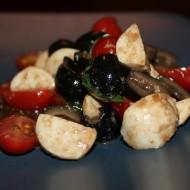 Mozzarella, Tomato, & Olive Salad
