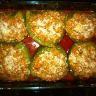 Ragu-Stuffed Peppers