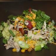 Slow Cooker Southwestern Shredded Chicken