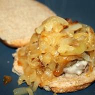 Stuffed French Onion Soup Burgers