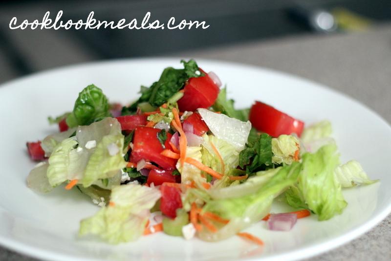 Buffalo Chicken Burger Salad (21)