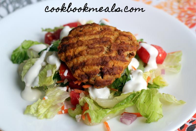 Buffalo Chicken Burger Salad (26)