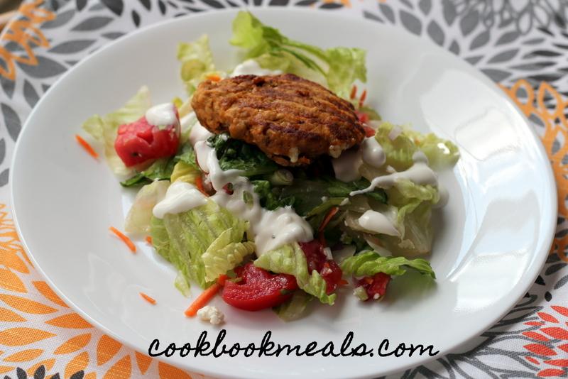 Buffalo Chicken Burger Salad (28)