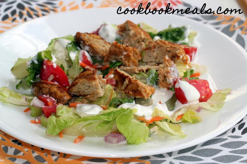 Buffalo Chicken Burger Salad (29)