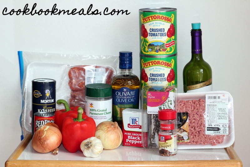 Slow Cooker Meat Sauce with Zucchini Noodles (1)