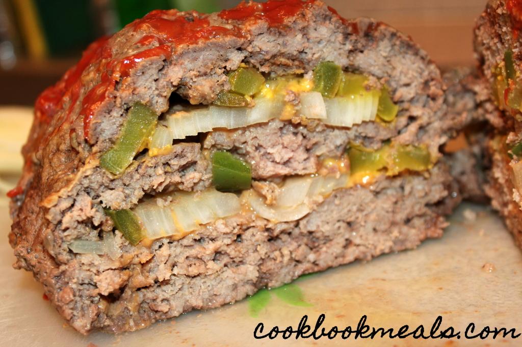 slow cooker cheeseburger meatloaf