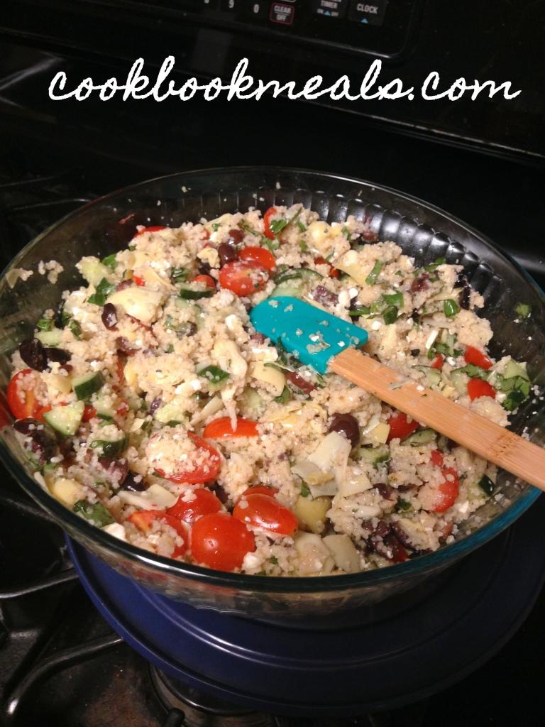 medit. couscous salad