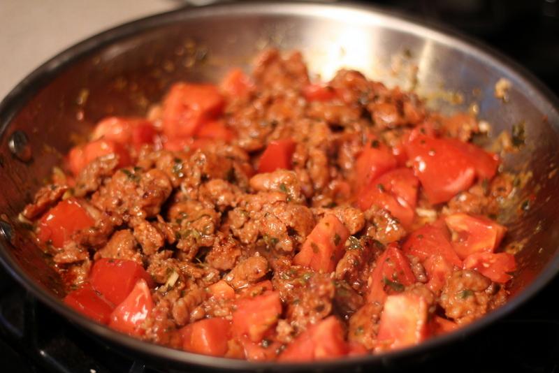 Sausage and Tomato Stuffed Zucchini (18)