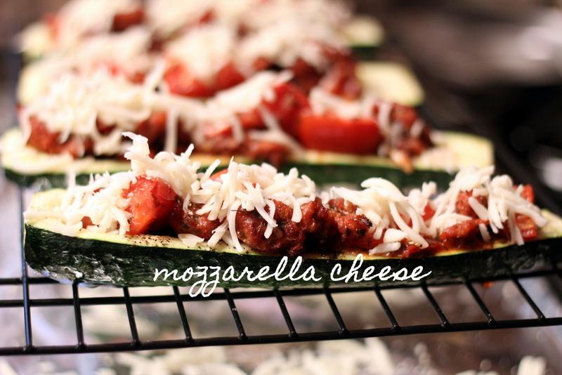 Sausage and Tomato Stuffed Zucchini (24)