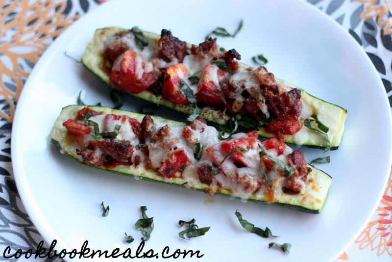 Sausage and Tomato Stuffed Zucchini (33)