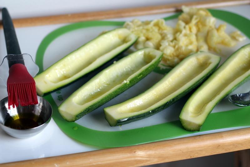 Sausage and Tomato Stuffed Zucchini (5)